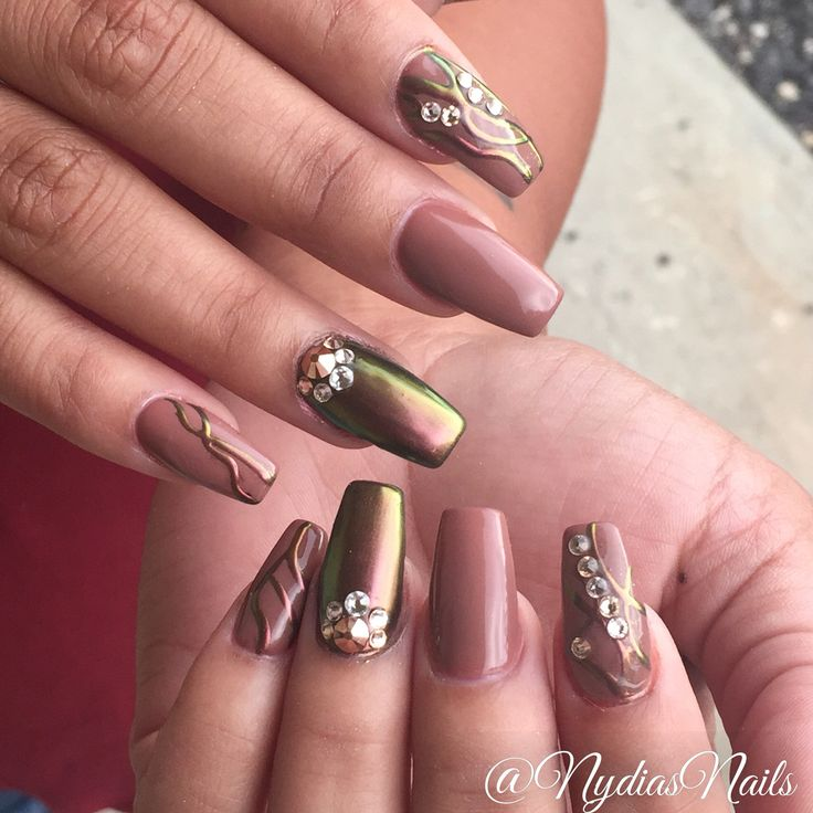 Chrome Nail Powder Gel: 35 Best Nydia's Nails Images On Pinterest