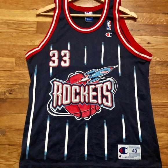 separation shoes fdd4d 2d841 RARE Vintage Scottie Pippen Houston Rockets Jersey 40 ...