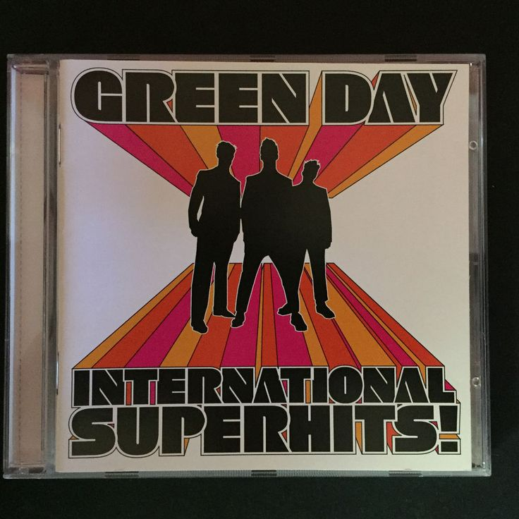 GREEN DAY International Superhits CD. Brand New & Sealed