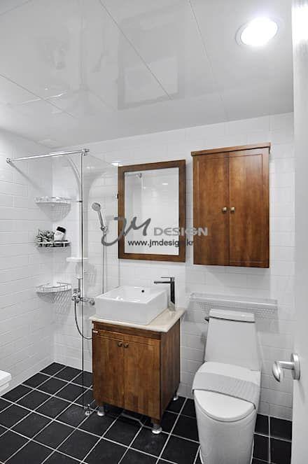 평촌현대홈타운33평 : JMdesign 의 화장실