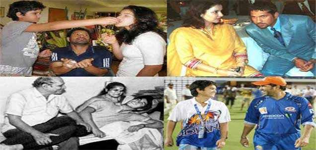 Rare images of family man Sachin Tendulkar. Are you a cricket fan and looking for latest cricket updates and live scores then you will get it here. Here at daily bhaskar you will find all sports news in english, sports news headlines, cricket interesting stories and daily sports news in english or visit http://daily.bhaskar.com/sports/
