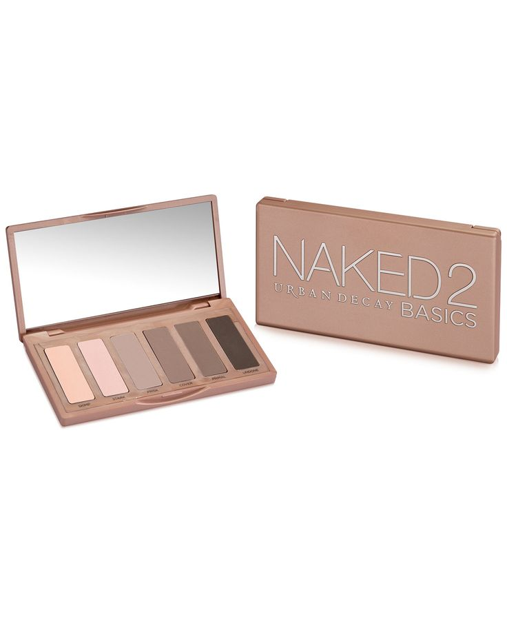 Create so many versatile looks with the cool tone neutrals in Urban Decay's Naked2 Basics palette. I love the natural looking matte finish!