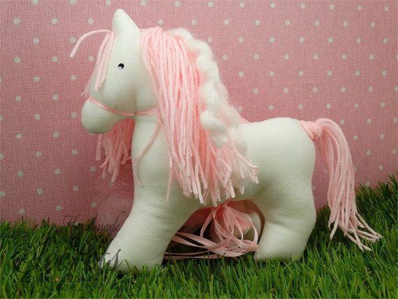 Stuffed Animals, Ponny, Stuffed Toys , Horses, Animal Toys, Baby Toys, Animal Decor, Baby Gift, Baby Girl, Nursery Decor, Girl, Set of 5
