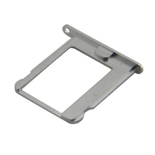 #Generic Silver Aluminum Alloy SIM Card Slot Tray Holder For iPhone 4/4S