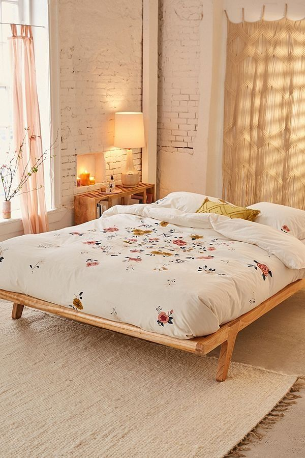 Blossom Embroidered Duvet Cover