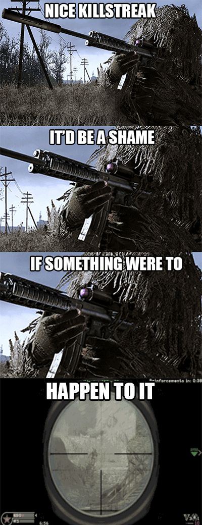 """11 Jokes Only """"Call Of Duty"""" Fans Will Get"""