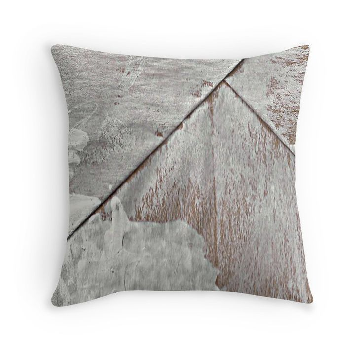 big paper bag whith white paint pillow, pillowcase by Harriet Wenske Berlin