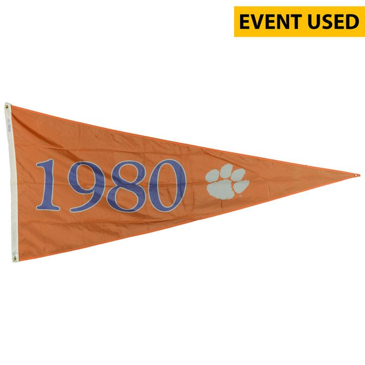 Clemson Tigers Fanatics Authentic Baseball Event-Used 1980 College World Series