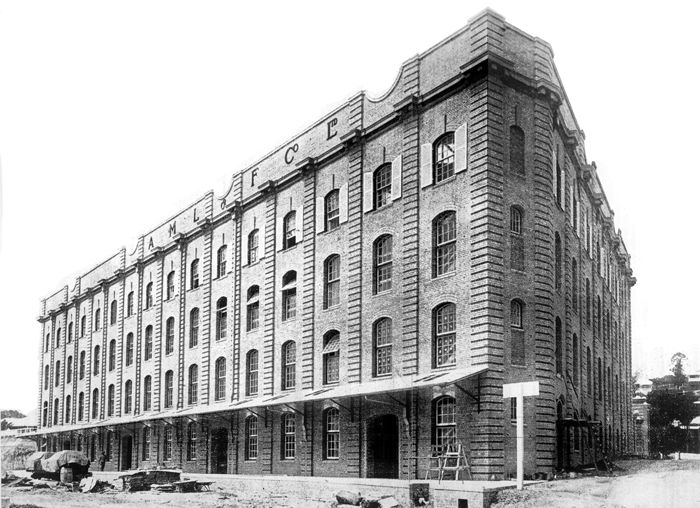 Australian Mercantile Land and Finance Woolstore, 34 Vernon Terrace, Teneriffe, Brisbane, 14 Dec 1912 - The Woolstore is the area's second oldest remaining woolstore, and it turns 103 this year.
