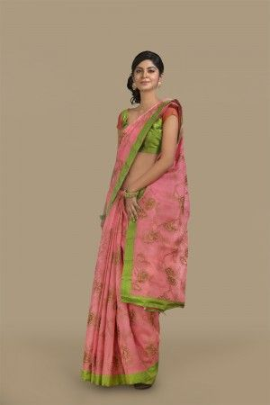 Discover the latest #indian #sarees at Aavaranaa - for the Indian #women. It is a well-known brand that offers a huge collection of #fashion sarees such as south indian sarees, partly #pallu sarees, sarees with #blouse, and sarees in chennai at affordable prices.