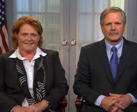 Heidi Heitkamp & John Hoeven Reads The Gettysburg Address