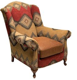 Kilim chair.  Loooooove this chair.  It needs to be in my study.
