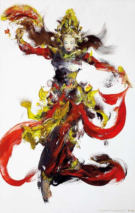 "Ida Bagus Indra ""IBI"" (Bali, 1974) - Ida Bhatari Mas Melanting , 2010."