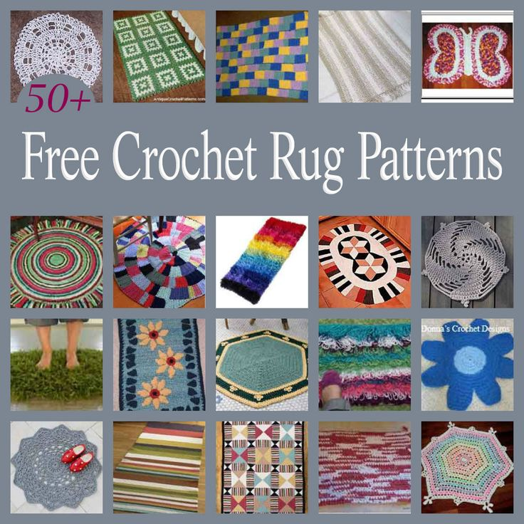 Dog Chewing On Rugs: 1000+ Ideas About Crochet Rug Patterns On Pinterest