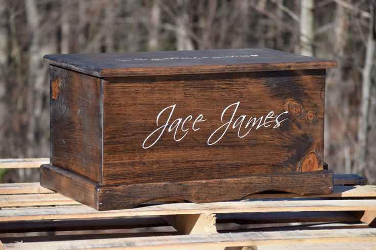 Toy Box with Front and Lid Engraving - Kids Toy Box - Personalized Toy Box - Toy Storage Box - Toy Chest - Treasure Chest - Wood Toy Box