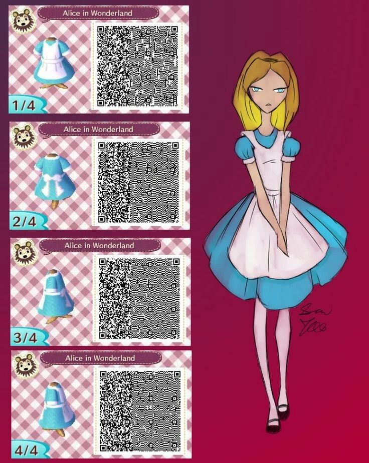 Alice in Wonderland Qr