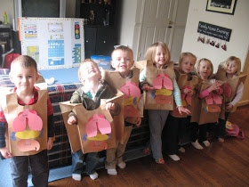 What a fantastic idea of teaching children about the inside of their bodies.