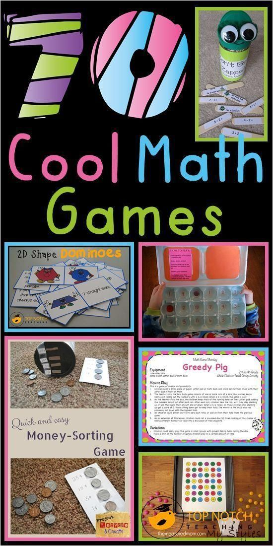 Jun 5, 2017 The ultimate round up of cool math games