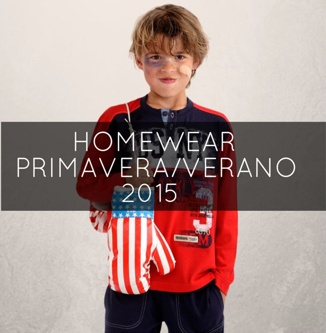 Colección Niño Homewear 2015 #Massana #Pijamas #Boy