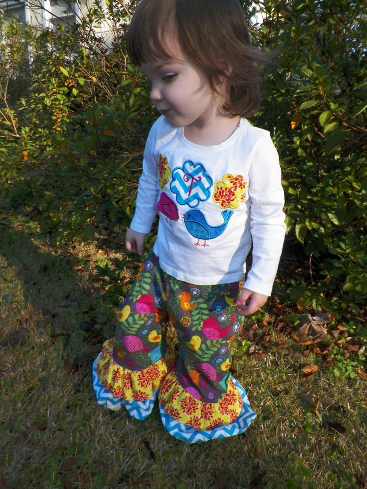 50% OFF Ruffles Galore Ruffle Pants PDF sewing by SeaminglySmitten