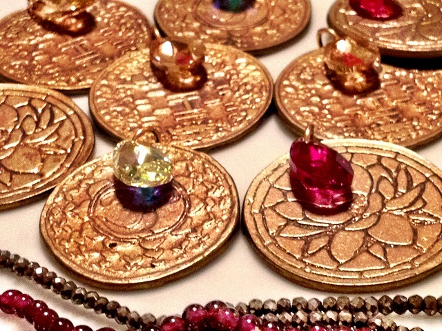 feng shui bling!   {happiness, intuition, love and karma...}