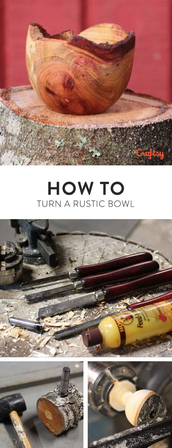 Learn how to make a small, live-edge bowl from a fallen branch. This wooden bowl is an amazing way to keep track of keys and other home necessities.
