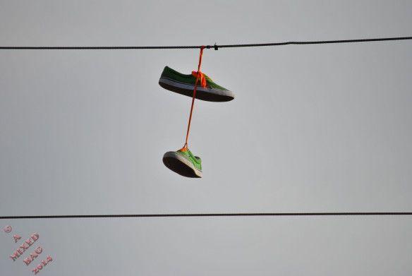 Sunday Photo Fiction -- Long Range Shoes