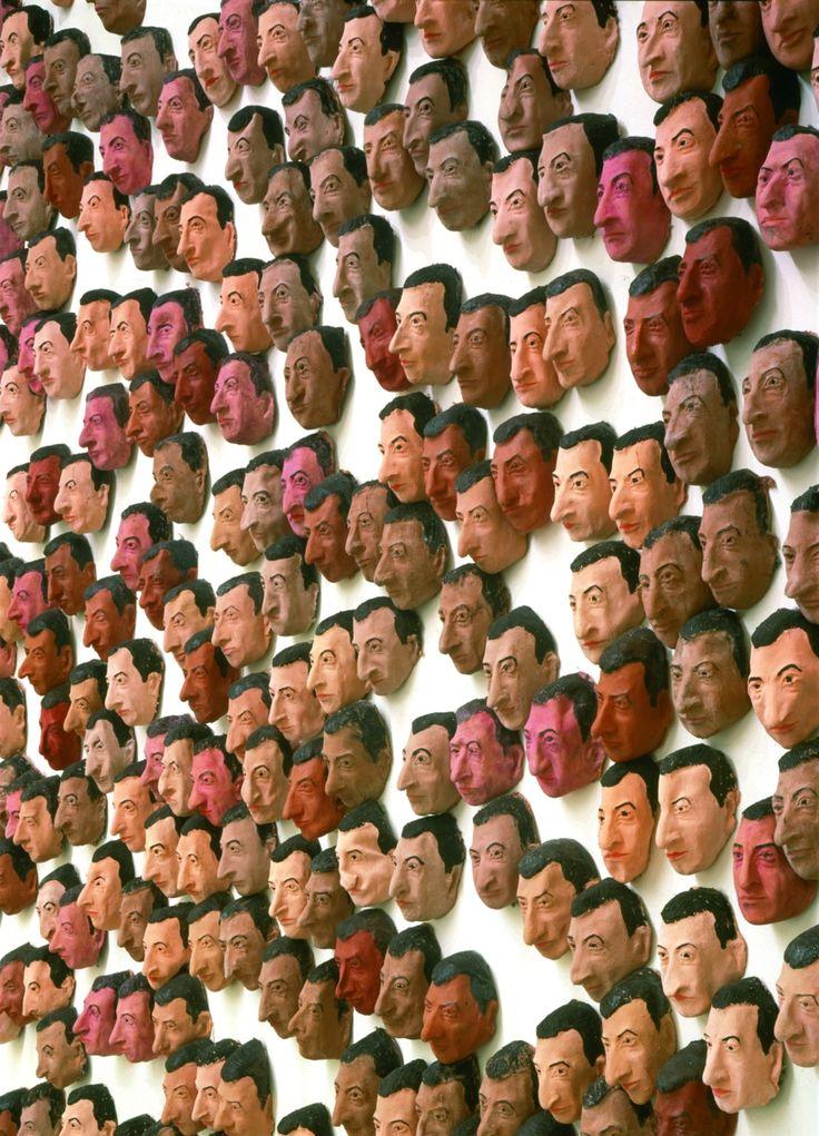 maurizio cattelan: self portraits