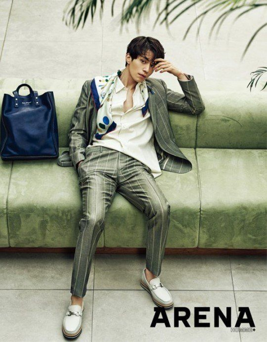 Lee Dong Wook is a classy fashionista in 'Arena Homme Plus'