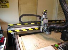 CNC Wood-Milling Machine