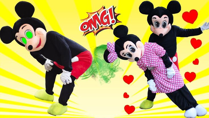 Mickey Mouse & Minnie Mouse New Episodes! Finger Family Nursery Rhymes! ...