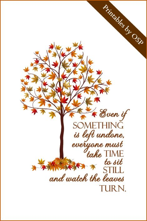 Great Autumn Quote From Elizabeth Lawrence Free Printable Awesome Design