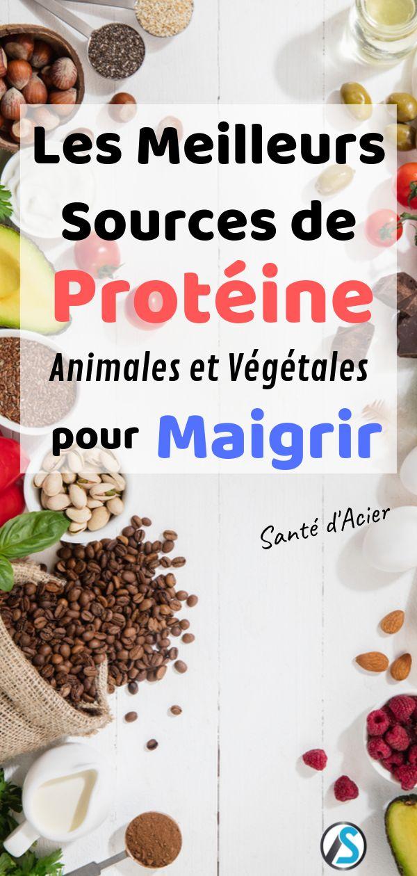 Comment choisir aliments riches en protéines pour maigrir
