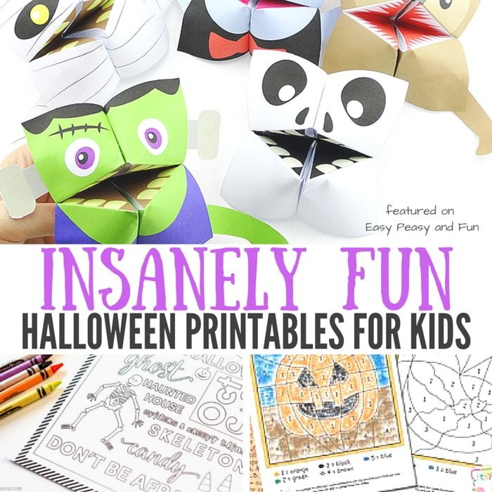 Halloween is sneaking in! Are you ready? Need something cool to keep the kids busy? You'll love these Insanely Fun Halloween Printables for kids! We love making Halloween crafts but sometimes a simple printable is all you need to keep the kiddos entertained! Insanely Fun Halloween Printables for Kids These are some of our favorite …