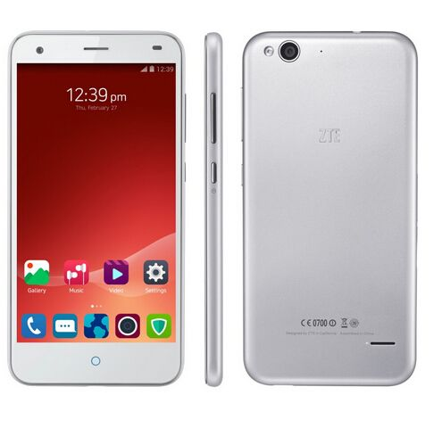 IN Stock ZTE Blade S6 cell phone 5 Inch 1280*720 IPS Qualcomm Octa Core Android 5.0 Phone 2GB RAM 16GB ROM 13MP GPS 4G 3G PHONE