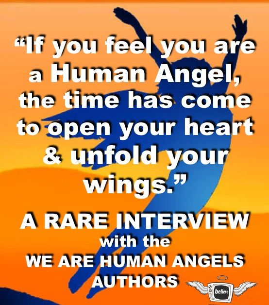 FREE!!! FIRST TIME EVER! INSPIRATIONAL Interview w/ authors of WE ARE HUMAN ANGELS! http://www.theglitchmovie.com/we-are-human-angels-podcast/ #theglitchmovie @Glitch_Movie