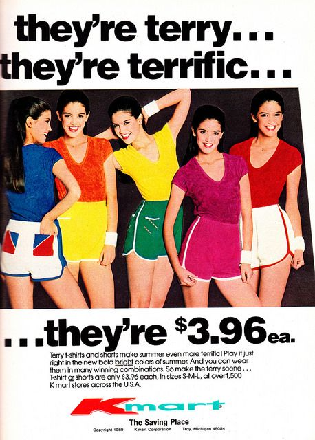 rediscoverthe80s: Kmart 1980 by moogirl2 on Flickr. Phoebe Cates Kmart Ad