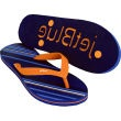 """Premium Zori Flip Flop Sandals....This premium retail quality 15mm EVA/rubber sole flip flop is combined with a natural rubber strap for comfort and durability and is available with the die-cut """"Logo Footprint"""" that leaves an logo or brand impression in the sand. Similar to Havaianas (R) brand footwear, the custom Zori is ideal as a corporate gift, perfect for school fund raising, looking to buy bulk flip flops. Includes choice of textured straps, straps or a custom molded logo strap tag."""