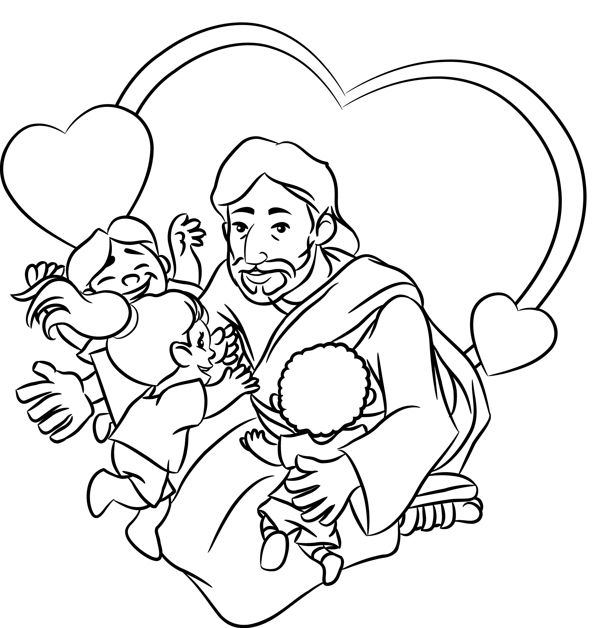 my friends coloring pages - photo#43