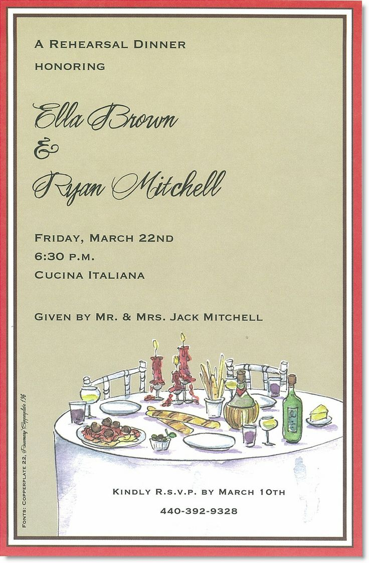 17 best images about party time on pinterest italian for Italian bridal shower invitations