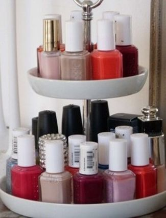 We're loving these creative ways to organize all of our cosmetics.
