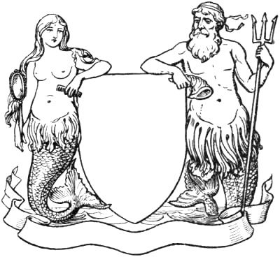 Mermaid and Triton supporters.