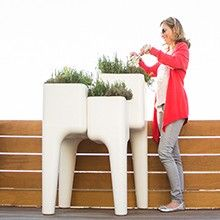 Set of 4 Stacking Planters