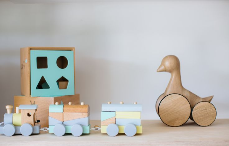 Wooden toys at tinypeople