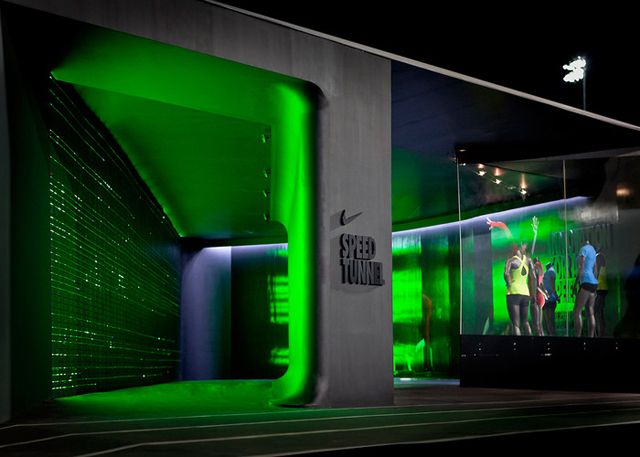 Nike-Camp-Victory-Olympic-Running-Trials-Eugene-1Camps Teased, Speed Tunnel, Olympics Camps, Glow Olympics, Camps Victory, Co Design, Olympics Trials, Nike Camps, Nike Glow