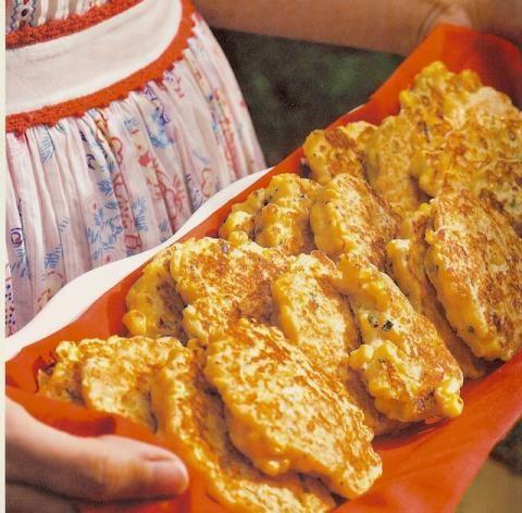 Farmers Market Corn Cakes | Louisiana Kitchen & Culture