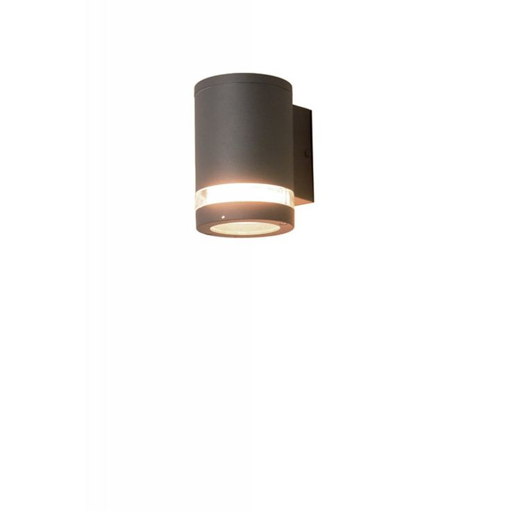 One Of Many Stylish Wall Lights From Elstead Lighting This Azure Dark Grey Low Energy