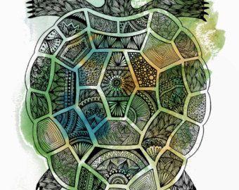 Elephant Print Elephant Art Elephant Wall Art by WestridgeART