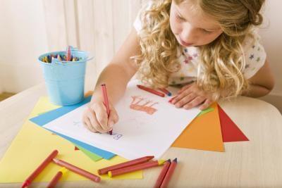 Métodos para enseñar los elementos y principios del arte en tercer grado | eHow en Español
