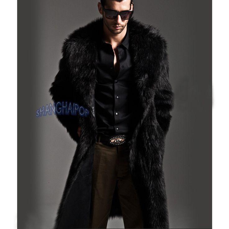 1000  ideas about Men&39s Fur &amp Faux Fur Coats on Pinterest   Mens